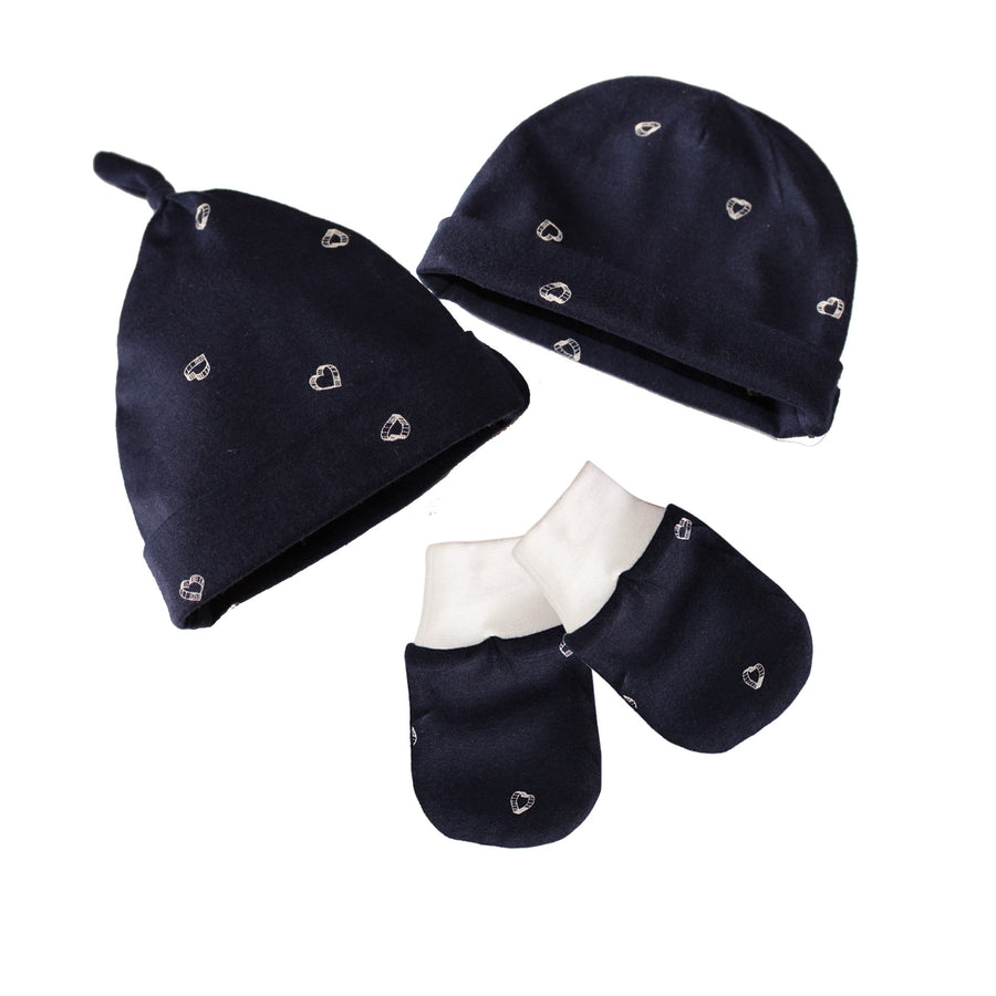 Newborn Cap and Mitten Set - kadambaby.com