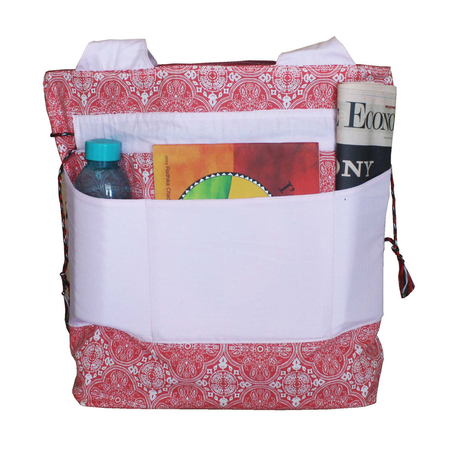 Diaper Bag  (Large) - Red - kadambaby.com