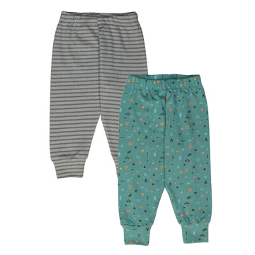 Set of 2 Pajamas - Grey