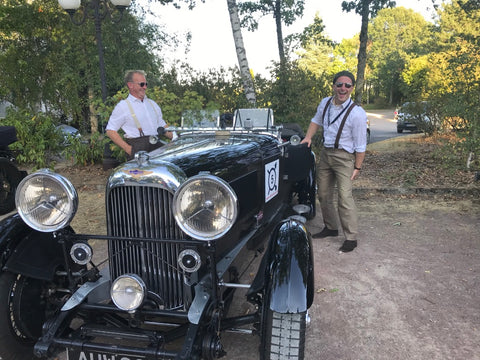 Ed and Tim and the 1933 Lagonda 3 Litre