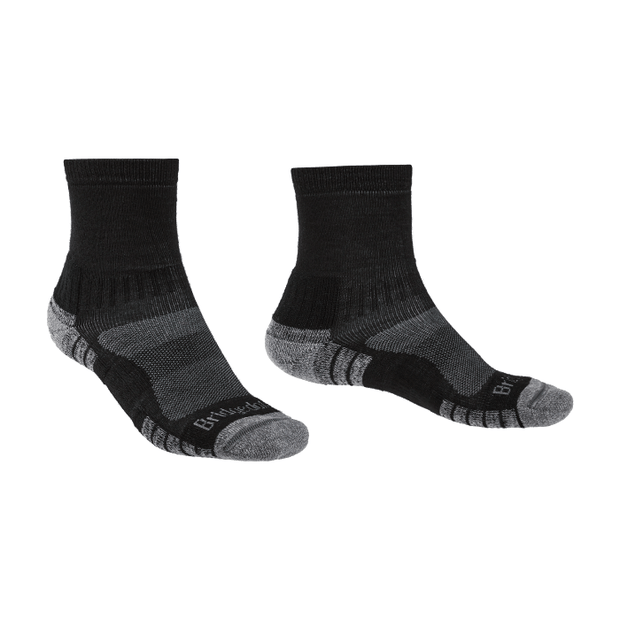 Bridgedale - Hike Lightweight Merino Performance  - Mns - Black/Silver
