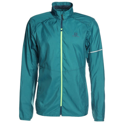 Salomon - Agile Wind Jacket - M - Moroccan Blue