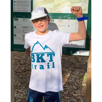 BKT-Trail - Kids Tee - White