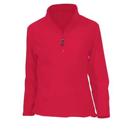 Sherpa - Women's Fleece Top Sona - Ruby
