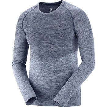 Salomon - Allroad Seamless LS Tee M - Night Sky / Smoke Blue