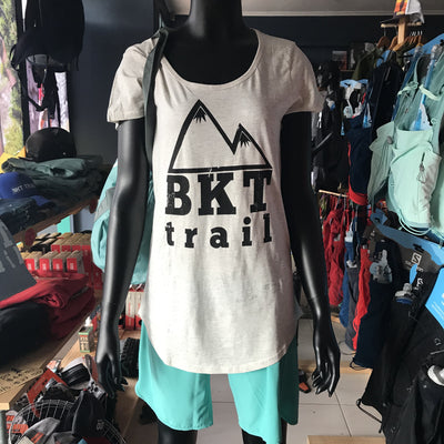 BKT-Trail - Women's SS Tee - Oatmeal