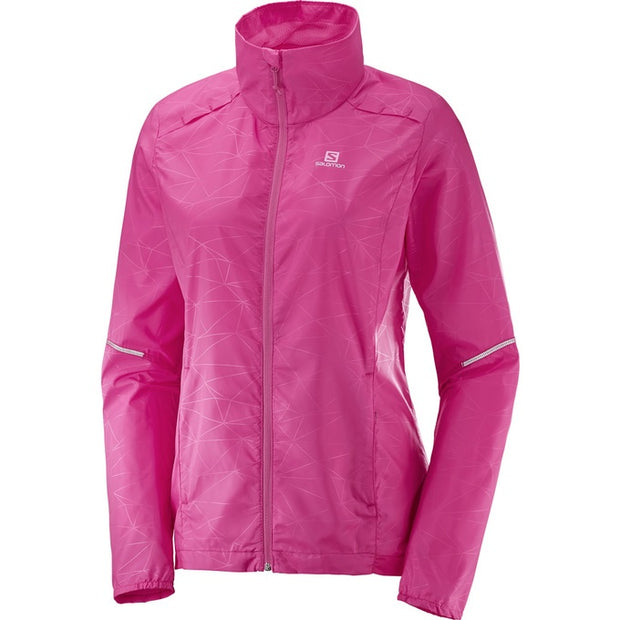Salomon - Agile Wind Jacket - W - Pink