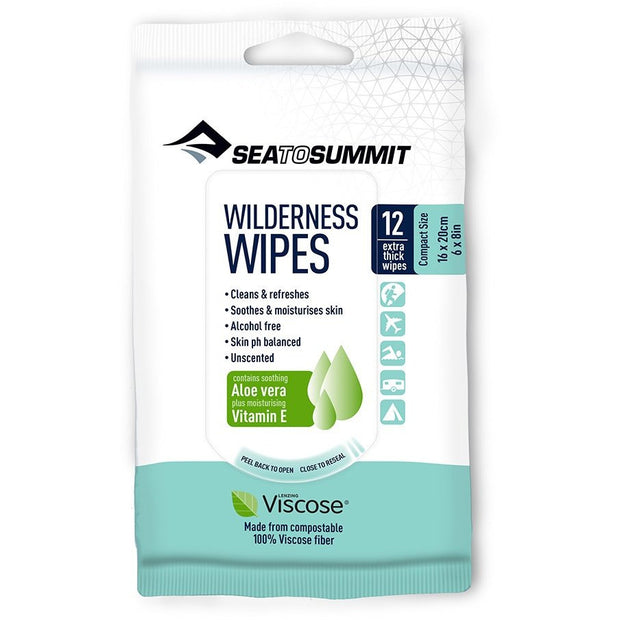 Sea to Summit - Wilderness Wipes Compact