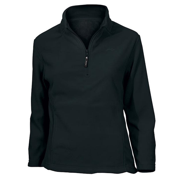 Sherpa - Women's Fleece Top Sona - Black