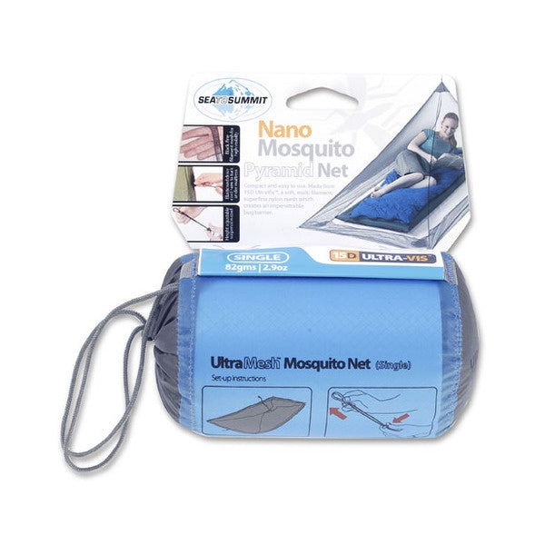 Sea to Summit - Nano Mosquito Net Single Treated