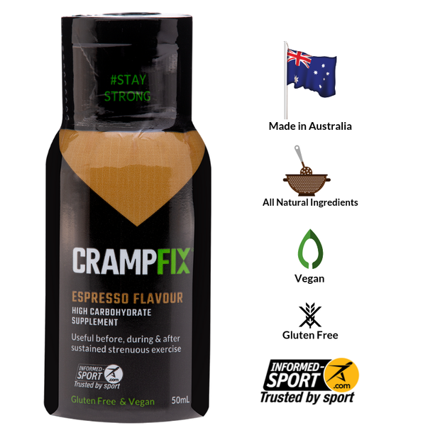 CrampFix - 50ml Bottle - Espresso