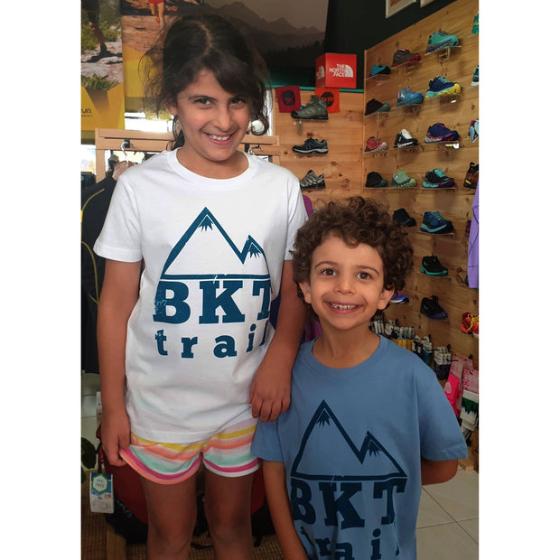 BKT-Trail - Kids Tee - Light Blue