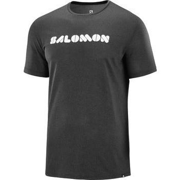 Salomon - Agile Graphic Tee - M Black