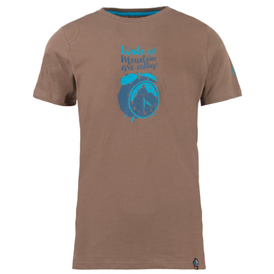 La Sportiva - Calling T-Shirt - M - Falcon Brown