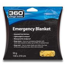 360 Degrees - Emergency Blanket