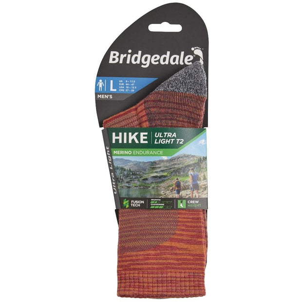 Bridgedale - Hike Ultralight T2 Merino Performance - Mns