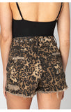 Leopard High Waist Shorts