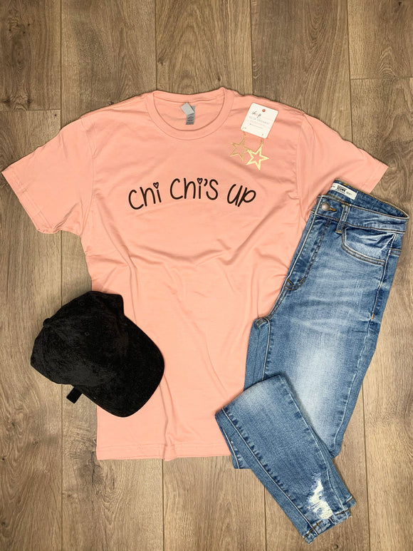 Dusty Rose Chi Chis Up Tee