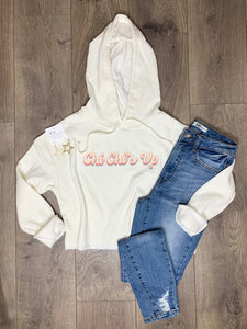 Chi Chi's Up Cropped Hoodie