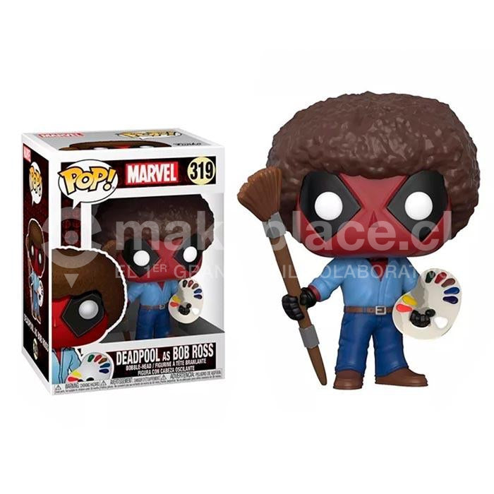 Figura Marvel Deadpool Playtime 70S Con Afro