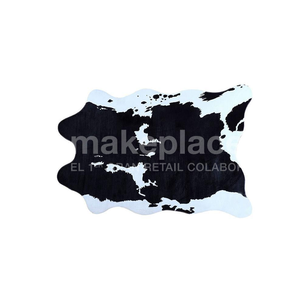 ALFOMBRA ANIMAL DESIGN 110X140 NEGRO Makeplace
