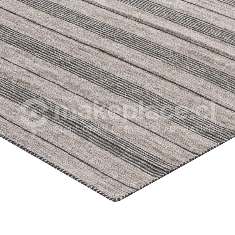 ALFOMBRA DH.NATURAL BICOLOR 160X230 140359 BLACK Makeplace