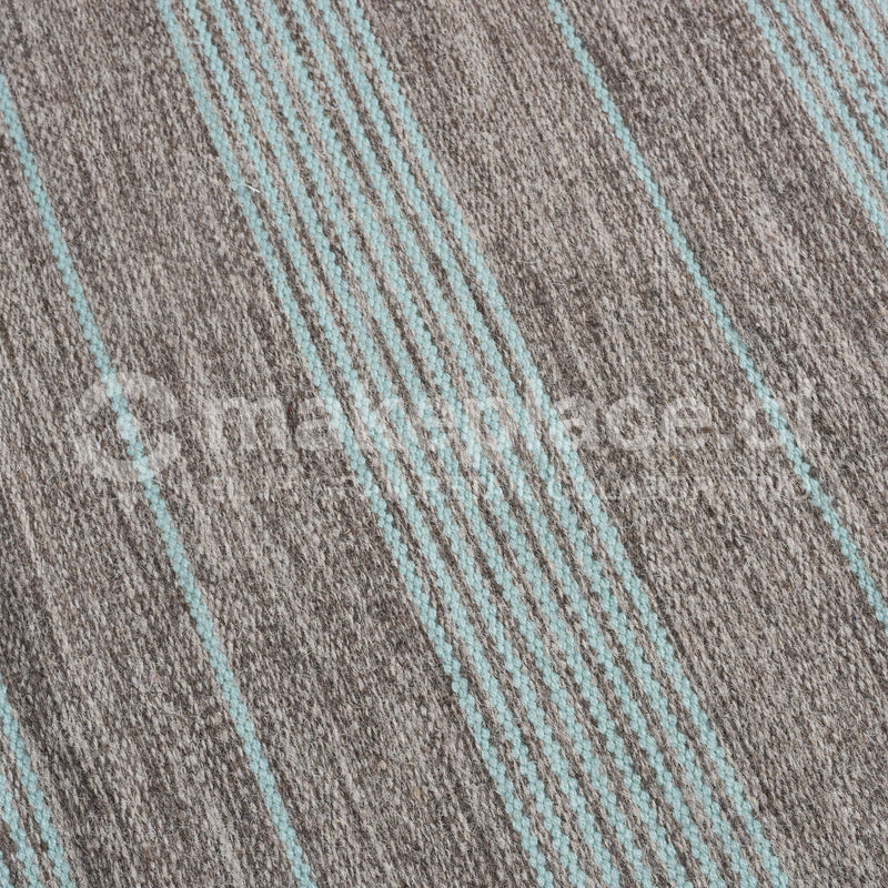 ALFOMBRA DH.NATURAL BICOLOR 160X230 140359 TEAL Makeplace