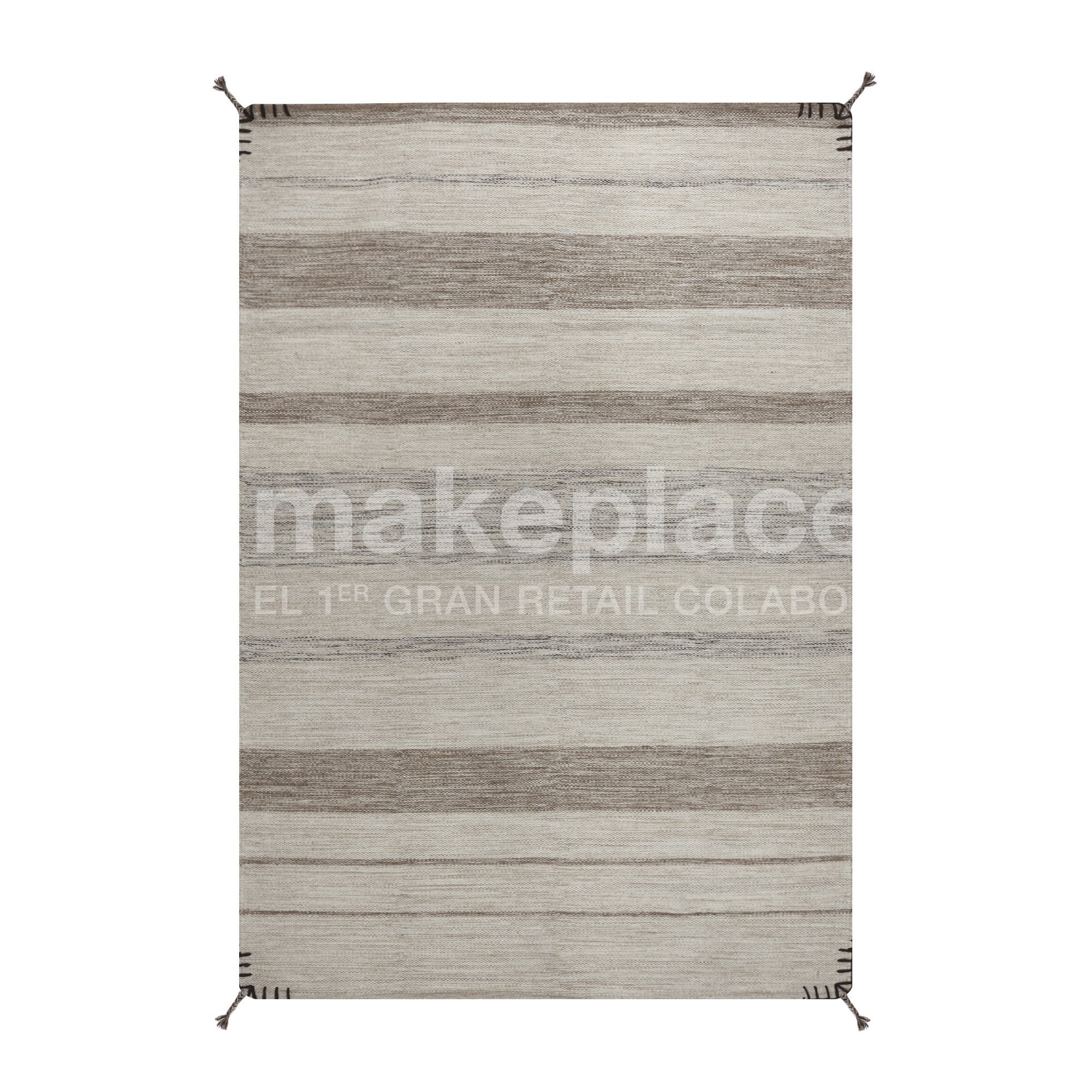 Alfombra K. Tribal Natural 140X200 19675 Nat/Brow