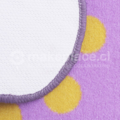 ALFOMBRA KIDS COLLECTTION 057X057 FLOR MORADO Makeplace