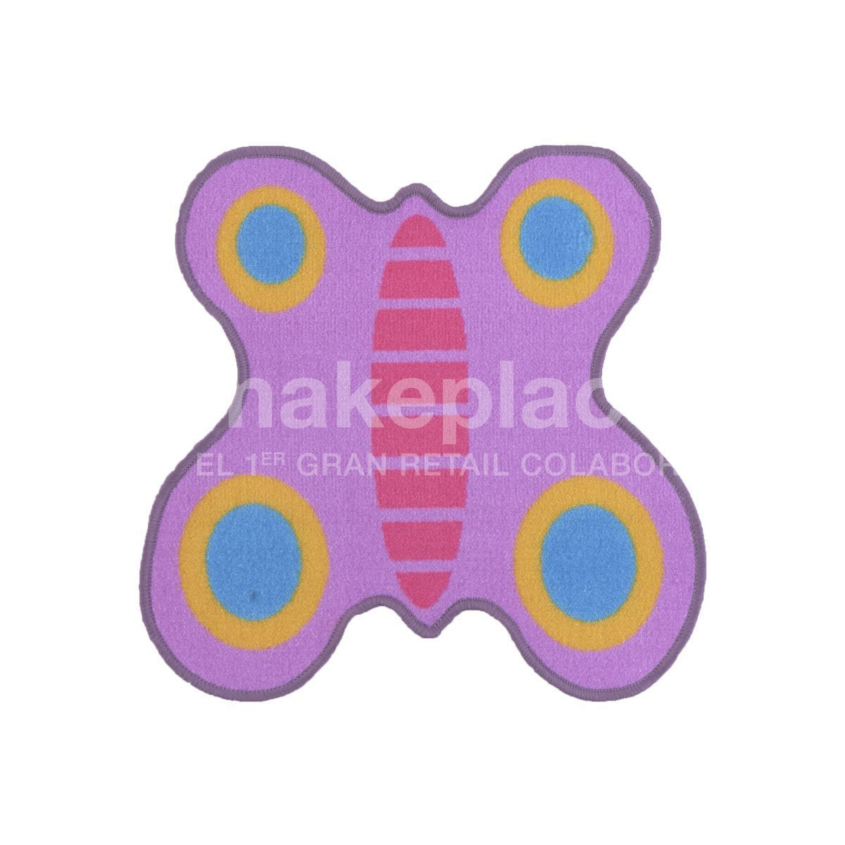 ALFOMBRA KIDS COLLECTTION 057X057 MARIPOSA MORADO Makeplace