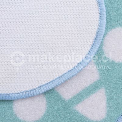 ALFOMBRA KIDS COLLECTTION 057X057 MARIPOSA TURQ. Makeplace