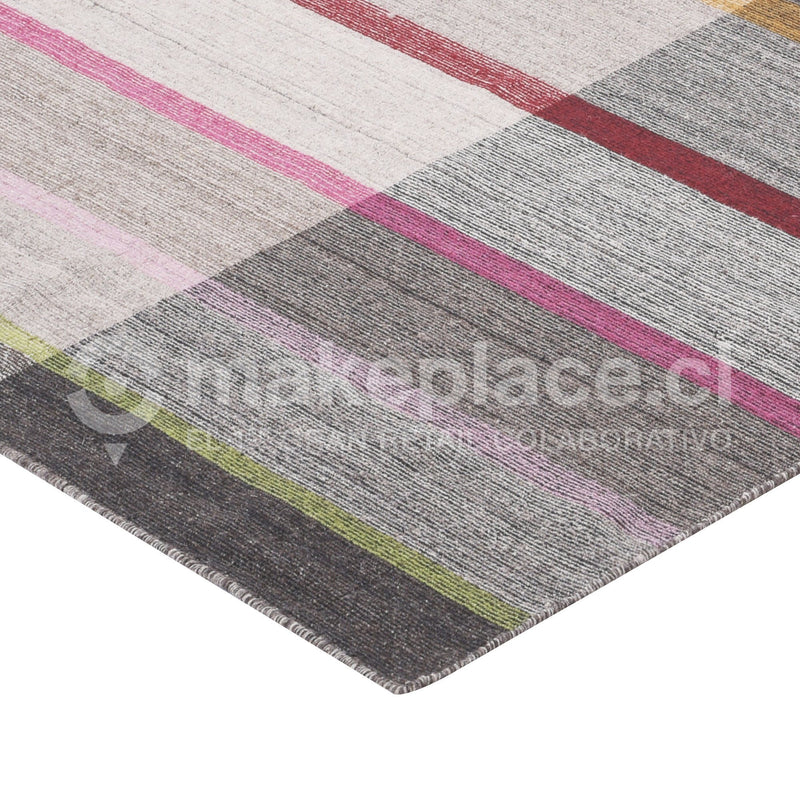 ALFOMBRA LOOMKNOTTED DESIGN 140X200 MULTY Makeplace