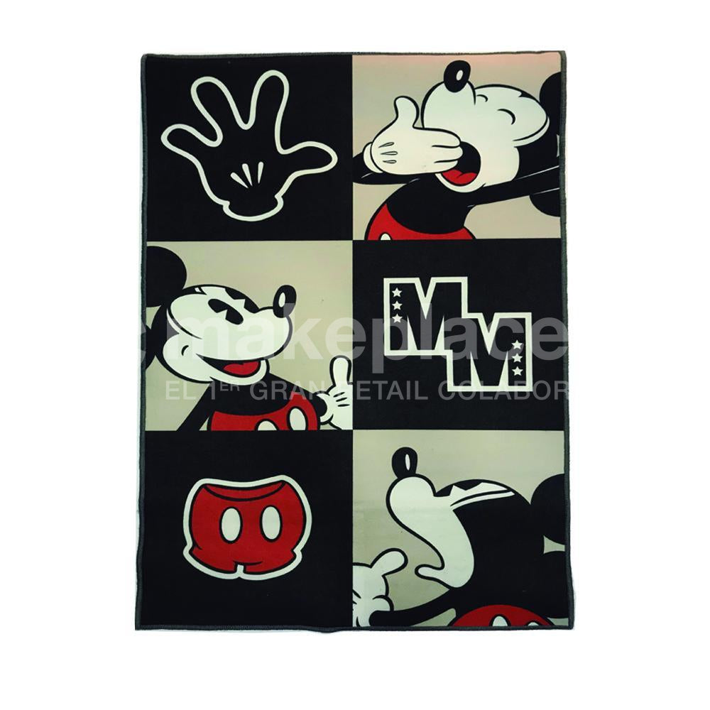 ALFOMBRA MICKEY 080X120 B&N 18 Makeplace