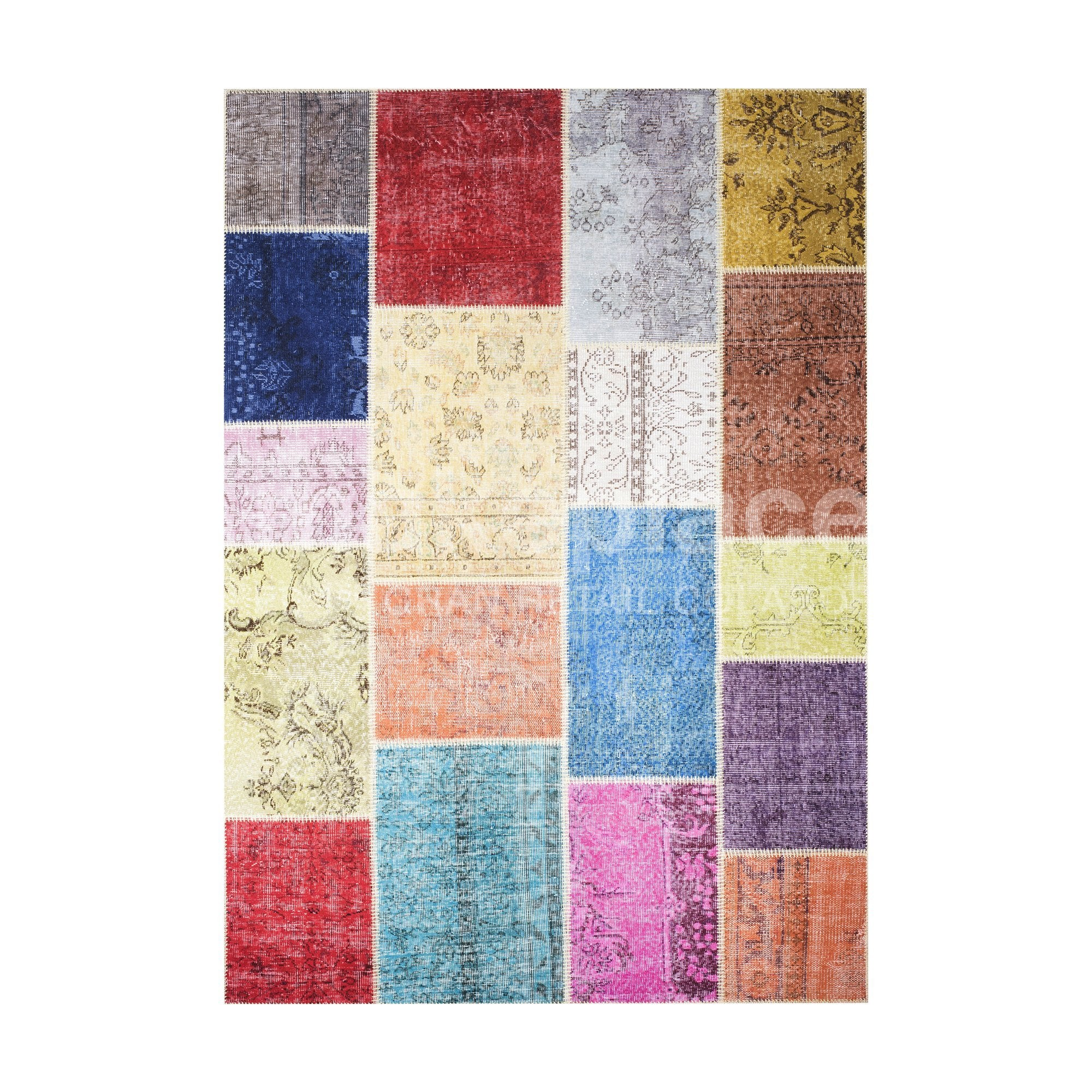 ALFOMBRA PATCHWORK TURCO 170X240 10-05 MULTICOLOR Makeplace