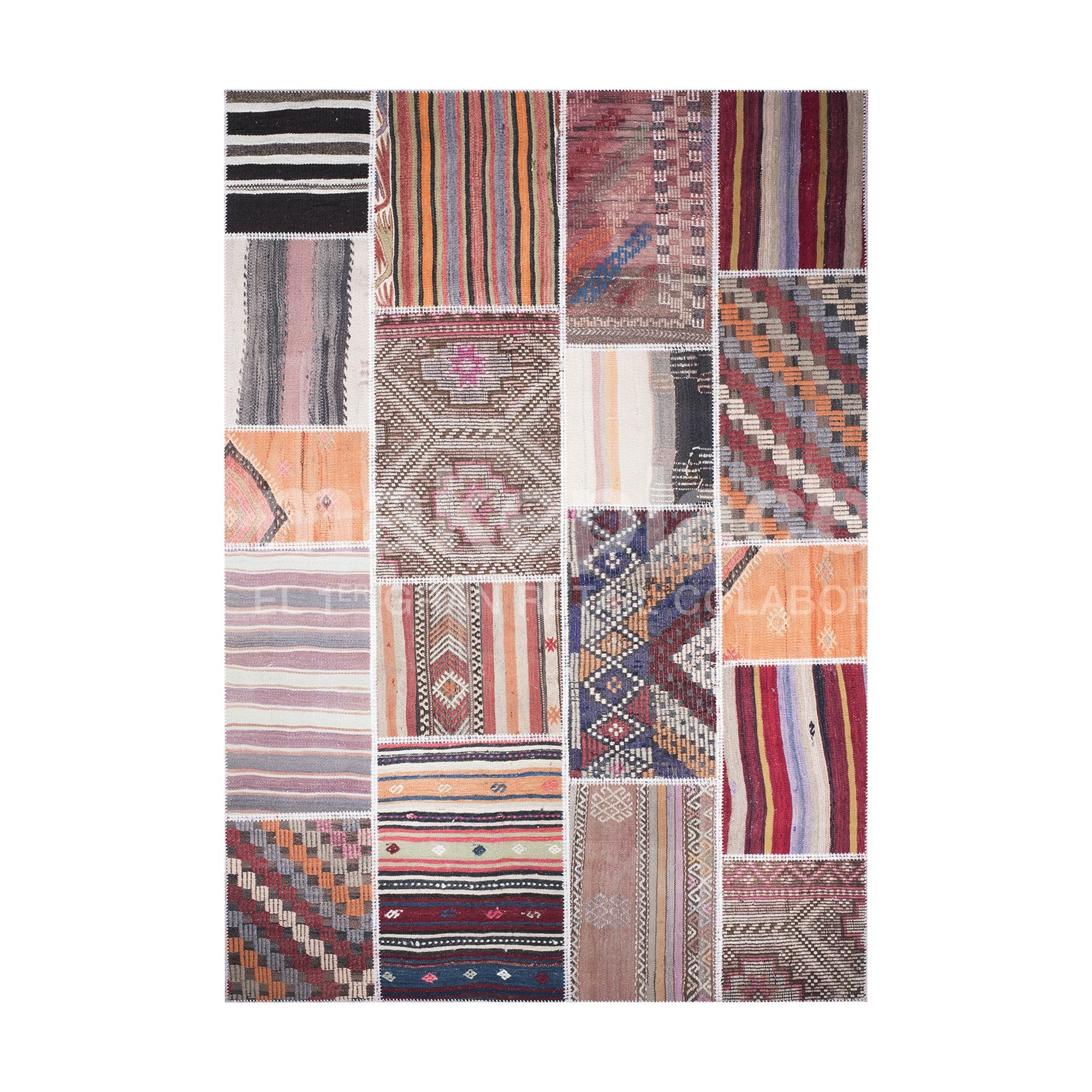 ALFOMBRA PATCHWORK TURCO 170X240 PASTEL K. CONTRA Makeplace