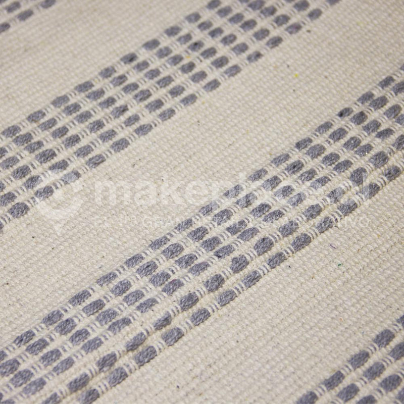 BAJADA DE CAMA DH. COTTON MAT 040X060 GRIS Makeplace