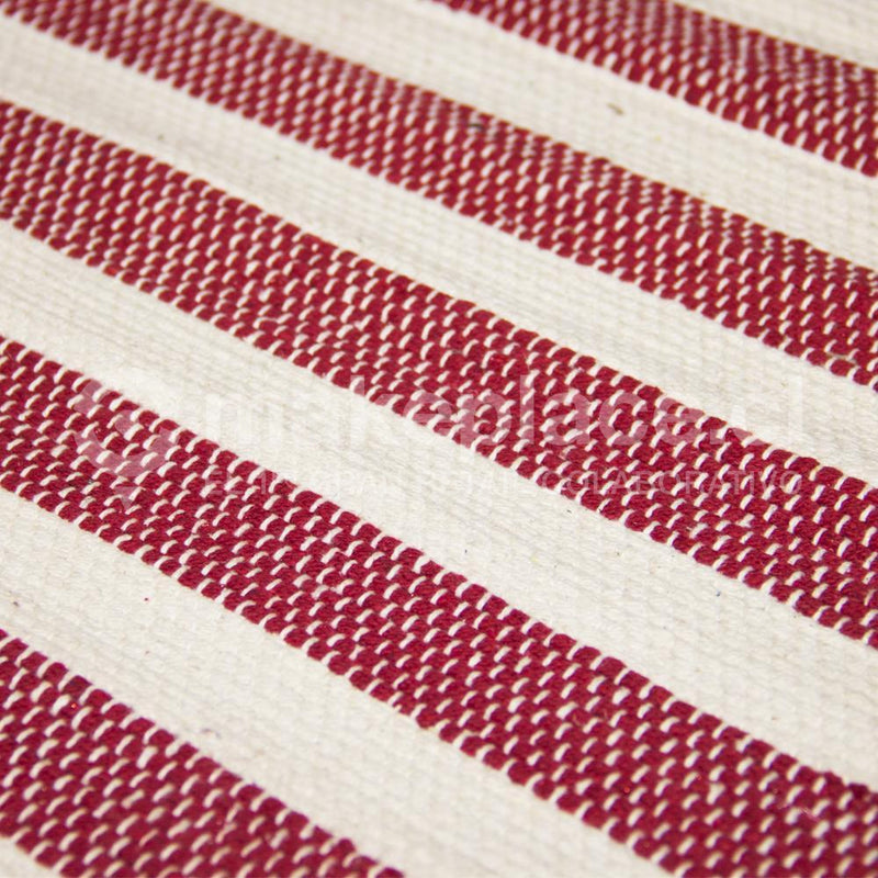 BAJADA DE CAMA DH. COTTON MAT 040X060 ROJO Makeplace