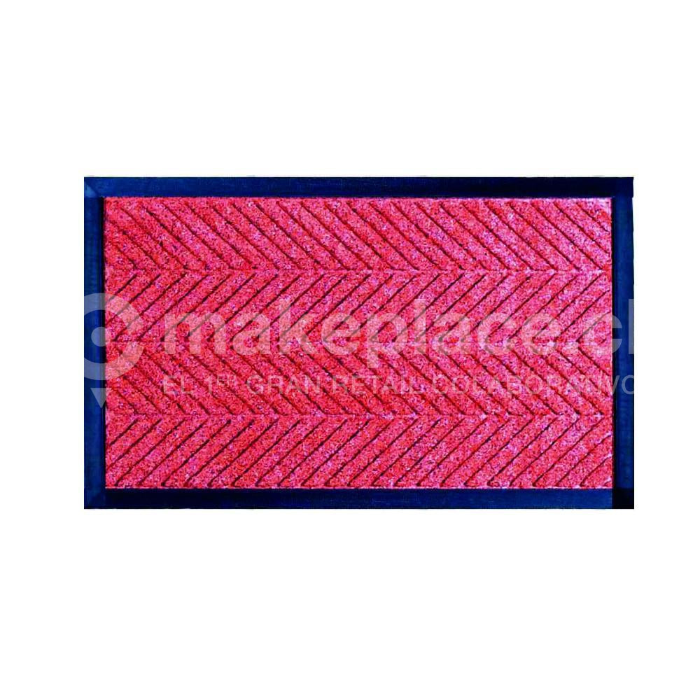 LIMPIA PIES ORBIT 045X075 CR051 LINEAS ROJO Makeplace