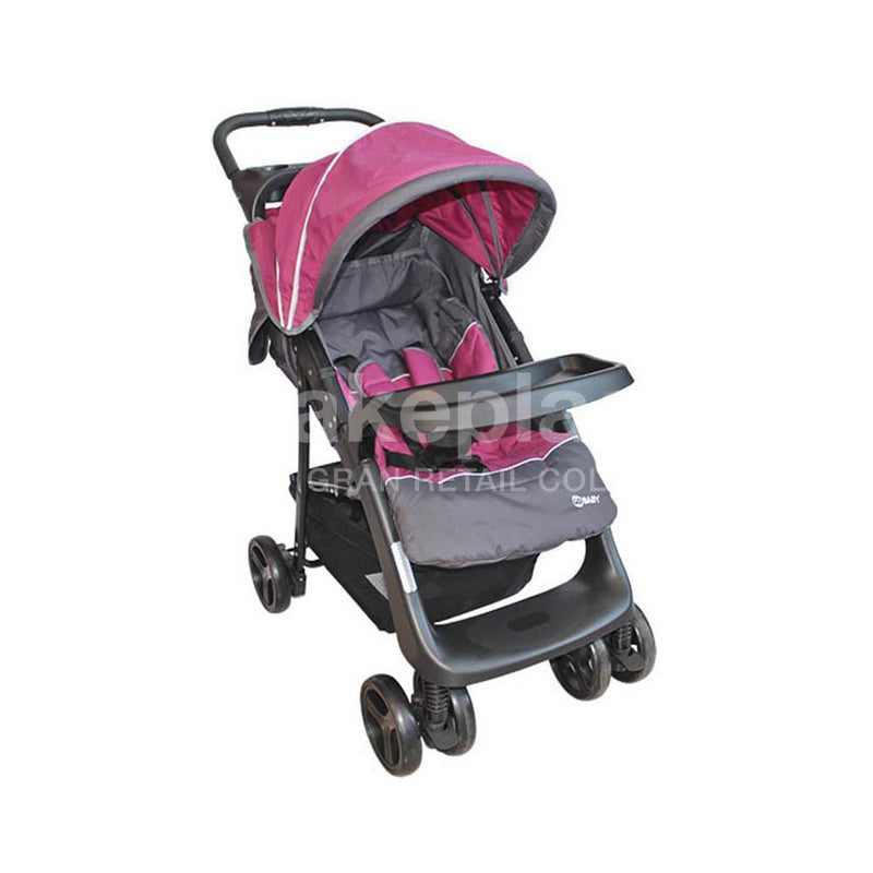 Coche Travel System Rosado BS-F03
