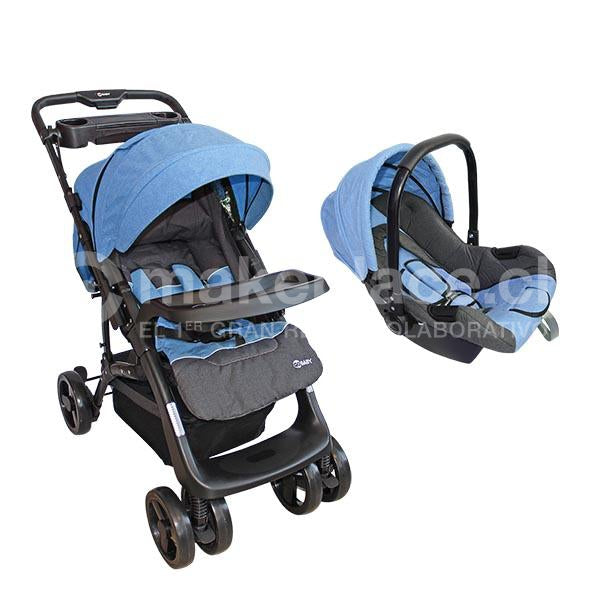 Coche Travel System Celeste BS-F08C