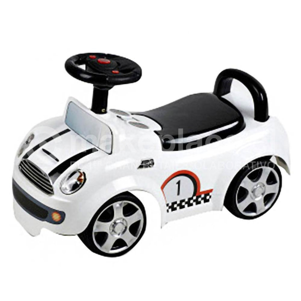 Correpasillo Smart Kids Mini Cooper Blanco