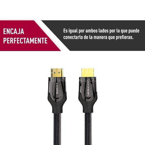 Cable Vention Hdmi Full Hd 2.0 4k 10mts Smart Tv