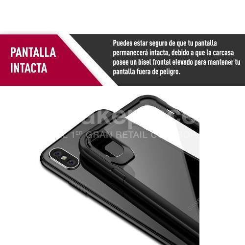 Carcasa iPhone X Ultra Delgada Silver