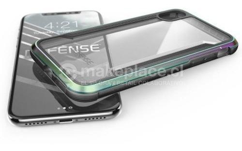 Carcasa iPhone X Defense Shield Iridescent