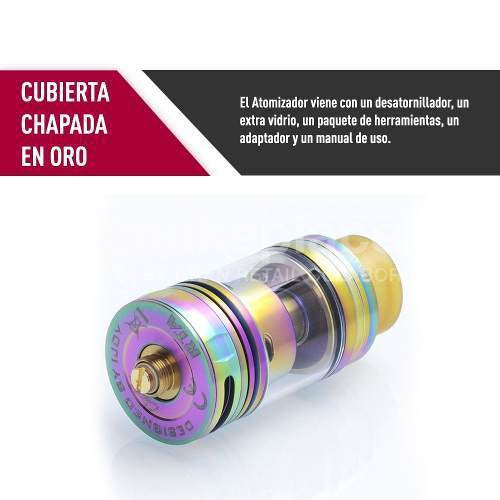 Atomizador Capitan Rta 3,8 ml.
