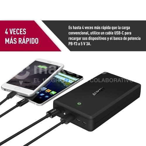 Batería Externa Power Bank 30000 Mah USB