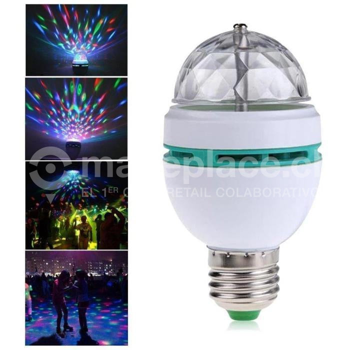 Ampolleta Led Luces De Fiesta Giratoria E-27