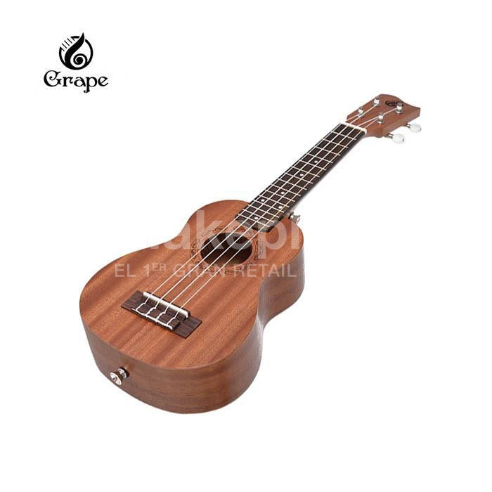 Ukelele Soprano Grape 100% Caoba Solido