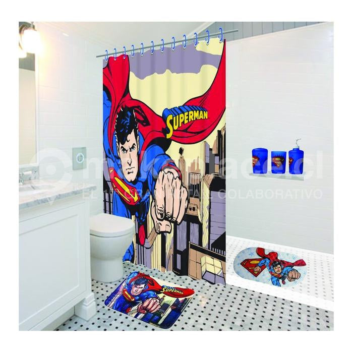 Cortina De Baño Superman Escena