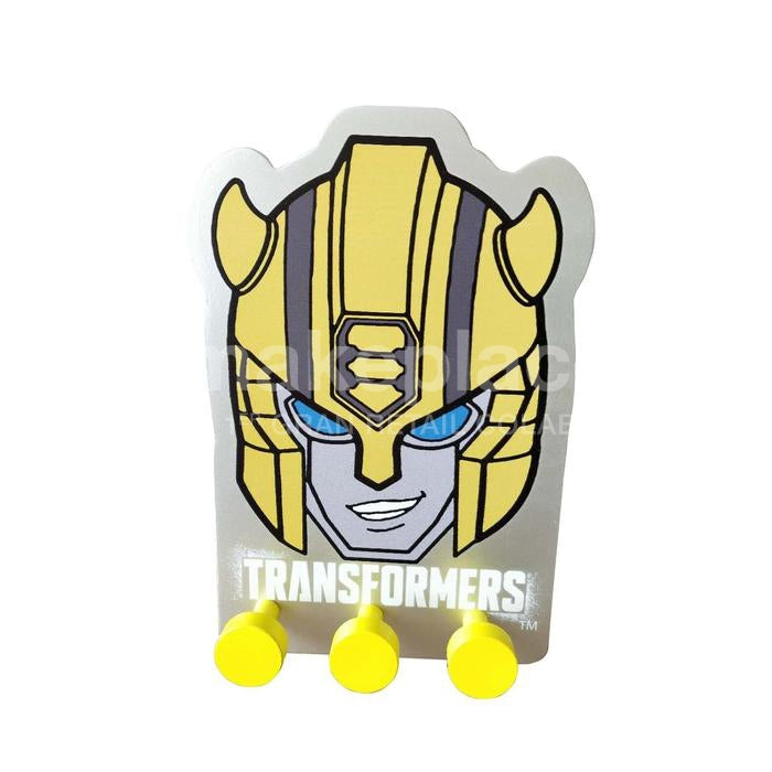 Percha Pared Niño Transformers